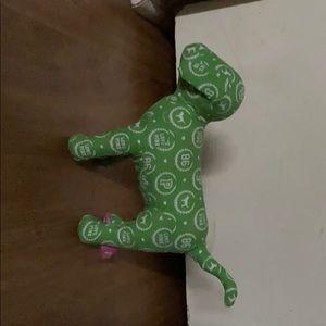 Green Victoria secret dog